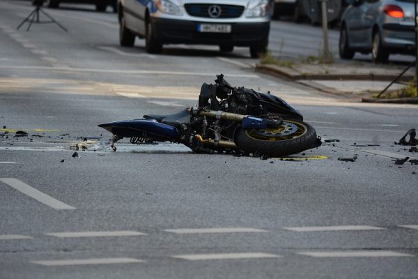 Motorcycle on the Floor